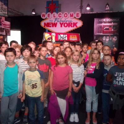 Sortie des CE/CM: Expo sur New York