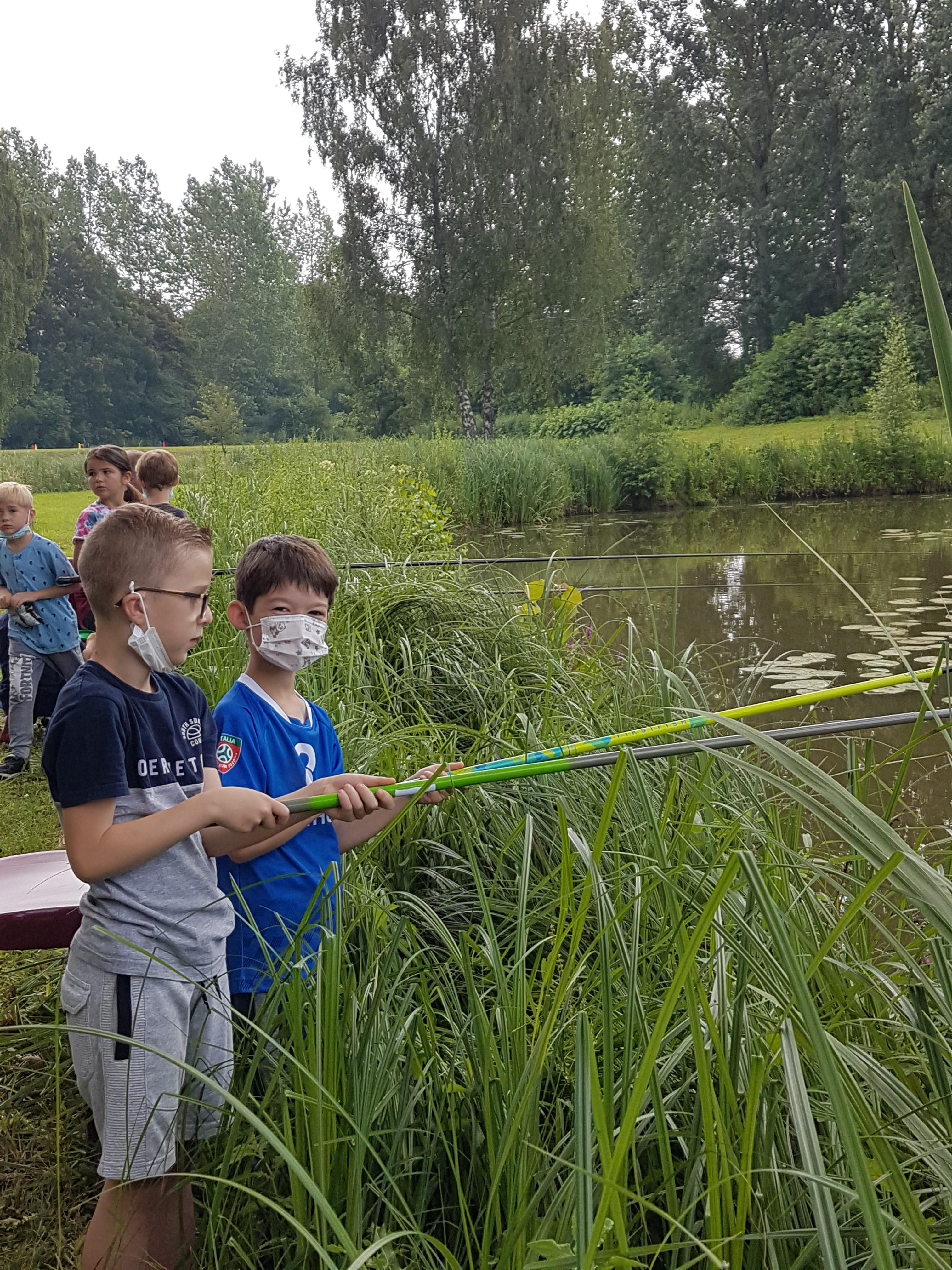 Olympiades et pêche