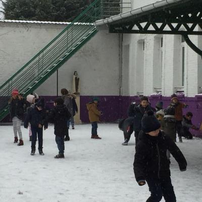Ste Thérèse sous la neige
