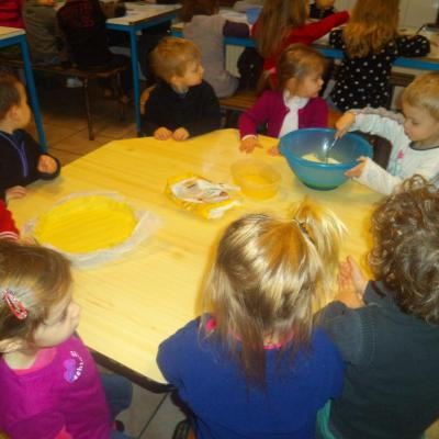 Les élèves de maternelle nous préparent une bonne galette