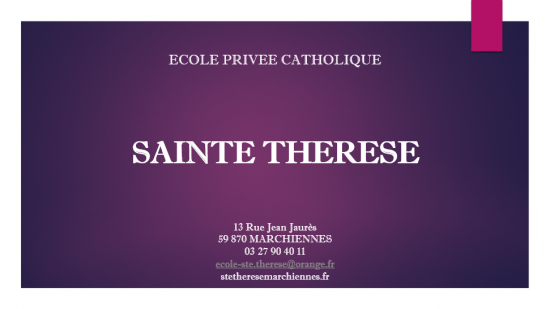 Ecole ste therese